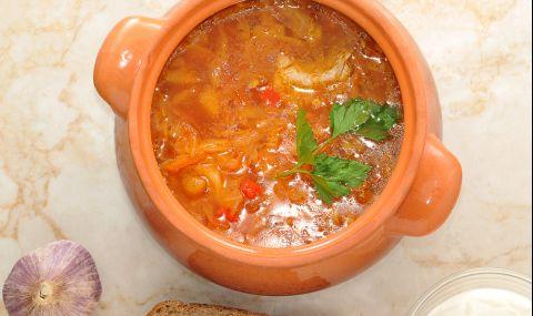 Рецепта за вечеря: Чорба от кисело зеле
