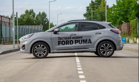 Тествахме Ford Puma. Повдигната Fiesta или нещо повече? - 13