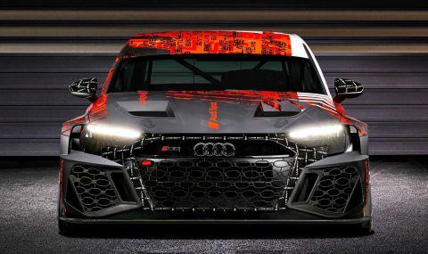 Audi RS3 LMS е машина за пистата с брутален външен вид - 13