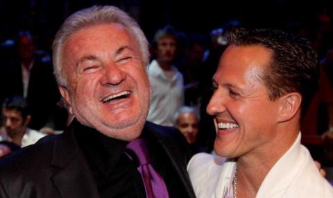 Бивш мениджър прикова вниманието на феновете на Шумахер