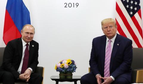 Тръмп и Путин разговаряха 80 минути