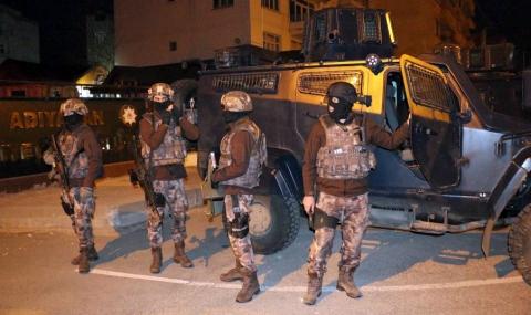 По следите на ПКК! Мащабна полицейска операция в Истанбул
