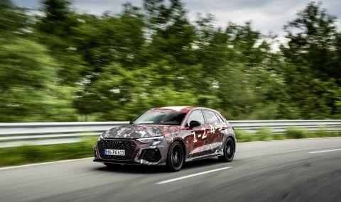 Audi RS3 ще разполага с 400 конски сили и дрифт режим (ВИДЕО) - 3