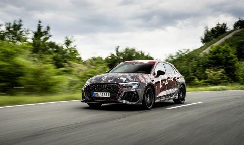 Audi RS3 ще разполага с 400 конски сили и дрифт режим (ВИДЕО) - 4