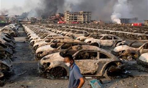 И Toyota, Mazda и Subaru се оплакаха от щети в Тянцзин