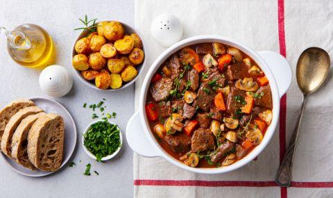 Рецепта за вечеря: Бьоф бургиньон - френски специалитет с телешко
