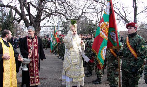 Ритуали във всички гарнизони за Богоявление