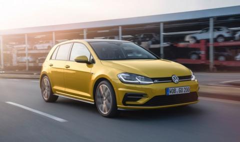 VW Golf отново е най-продаваната кола в Европа. Вижте кои са след него