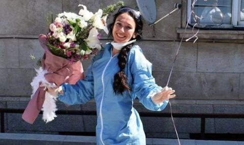 """Жената на алпиниста Боян Петров е доброволка в """"Александровска"""""""