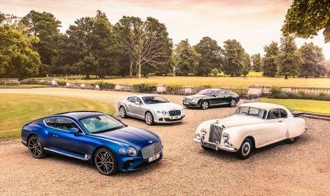 Bentley произведе 200 хиляди автомобила - 2