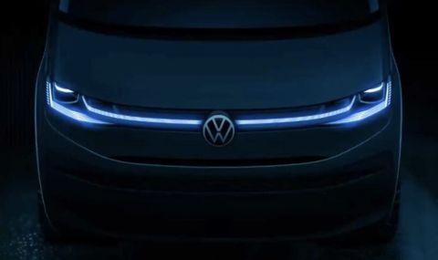 Първa снимкa на новия бус на Volkswagen