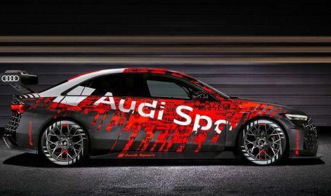 Audi RS3 LMS е машина за пистата с брутален външен вид - 12
