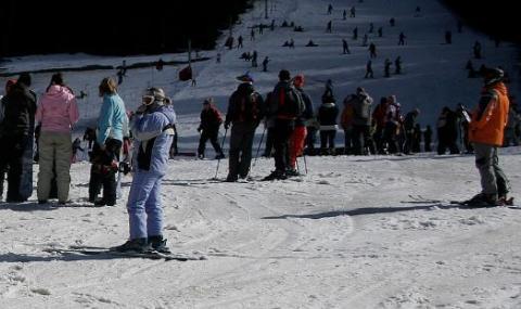 """Инцидент на ски писта в """"Пампорово"""""""