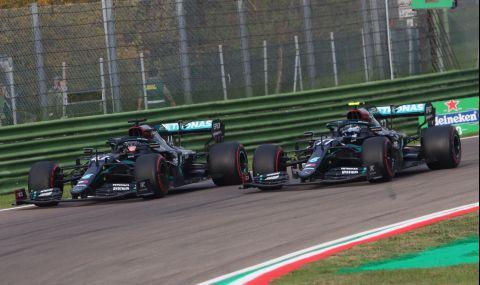 От Mercedes отрекоха, че са се разбрали с Хамилтън за нов договор