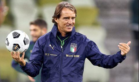 Манчини поиска увеличение на броя на футболистите в съставите за Европейското първенство