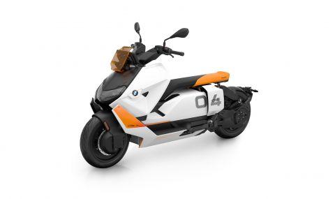 BMW представи електрически скутер с максимална скорост от 120км/ч - 3
