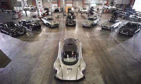 Ето ги автомобилите на новия Джеймс Бонд