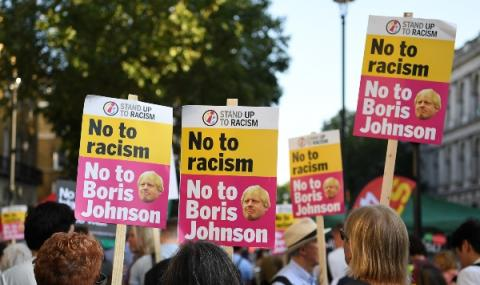 Протести срещу Борис Джонсън