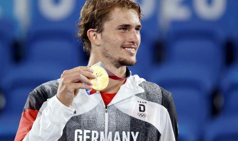 Екзекуторът на Джокович спечели олимпийската титла в мъжкия тенис - 1