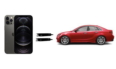 Какъв автомобил може да се купи на цената на нов Iphone?