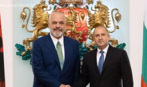 Радев към Рама: Оценяваме европейското отношение към българското малцинство в Албания