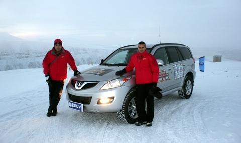 Арктически тест на Great Wall Hover - 2