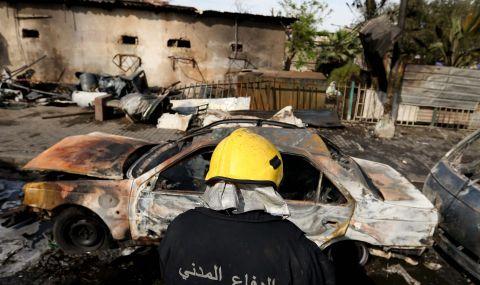 Експлозия в Багдад уби един и рани 12