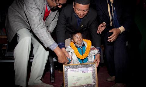 Почина най-малкият човек в света
