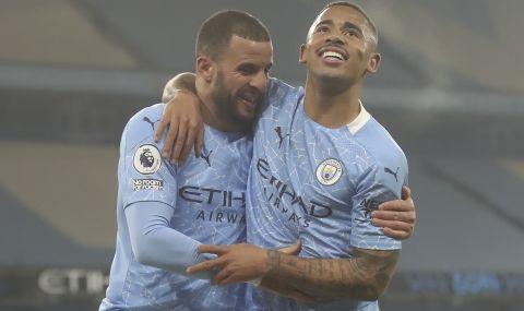 Манчестър Сити с 21-ва поредна победа във всички турнири