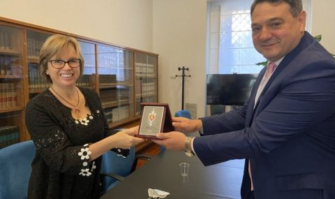 Главният секретар на МВР се срещна с шефа на Европол - 1