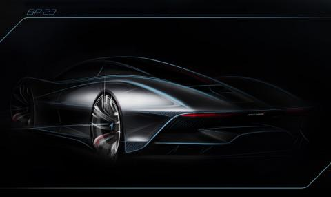 Новият суперхибрид на McLaren ще вдига 400 км/ч