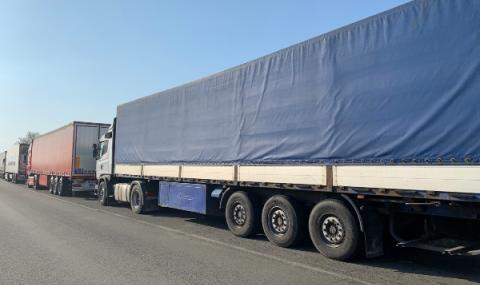 Български камиони чакат между Сърбия и Хърватия
