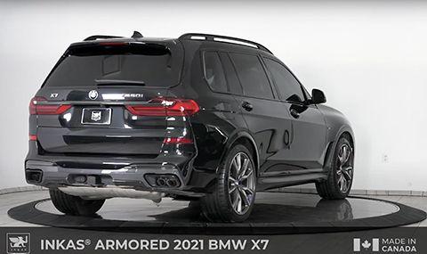 Запознайте се с бронирано BMW X7 (ВИДЕО) - 2