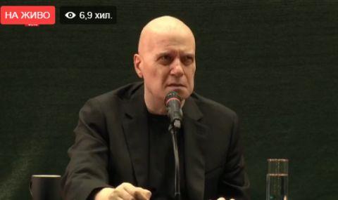 Слави Трифонов провежда среща със студенти в Пловдив (НА ЖИВО)