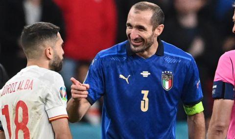 Киелини: Когато Манчини ни каза, че трябва да мислим за титлата на Евро 2020, помислих, че е луд