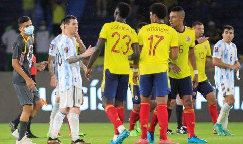 Аржентина вкара два гола до 8-ата минута, но не победи