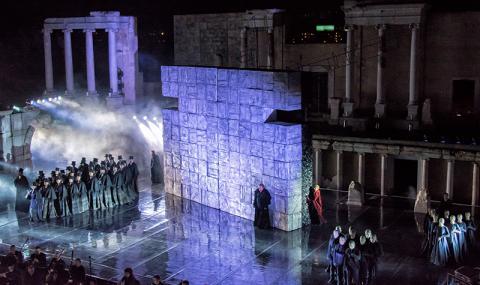 Най-зрелищният сезон на фестивала Opera Open в Пловдив