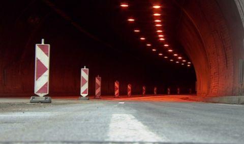 """Отклоняват тирове преди тунел """"Ечемишка"""" в посока София - 1"""
