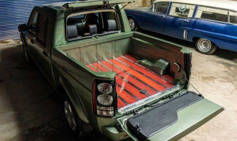 Land Rover Discovery пикап в една единствена бройка - 3