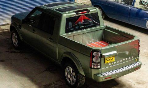 Land Rover Discovery пикап в една единствена бройка - 4