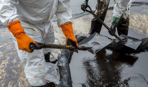 400 тона петрол са се разлели в Жълто море