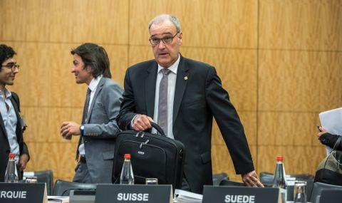 Новият президент на Швейцария встъпи в поста
