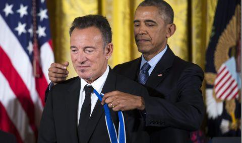 Барак Обама и Брус Спрингстийн издават книга - 1