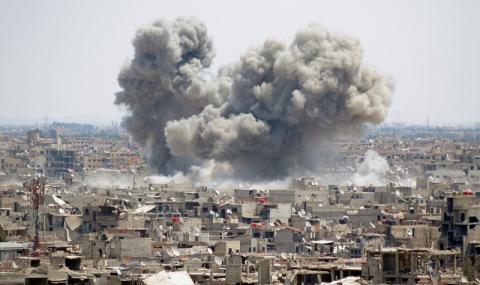 Сирийска ракета удари Турция