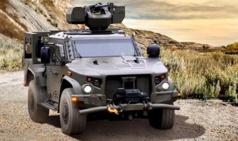Elbit Systems стартира реализацията на договора за оборудване на бойните машини Oshkosh 4X4 в Черна гора