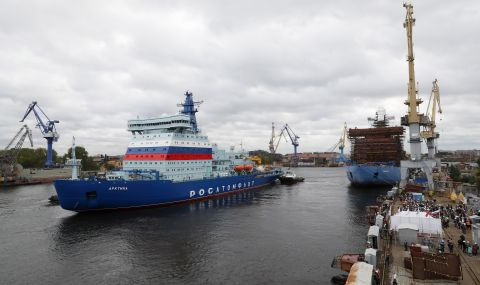 Шест нови ледоразбивача ще допълнят флота на Северния морски път - 1