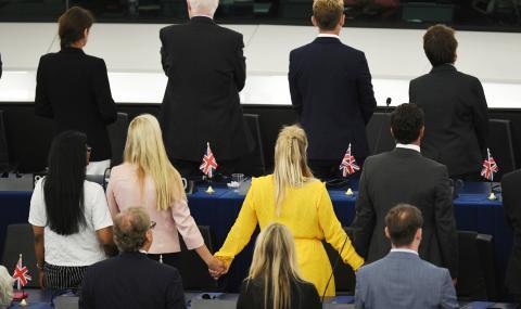 Британски депутати се обърнаха с гръб на химна на ЕС
