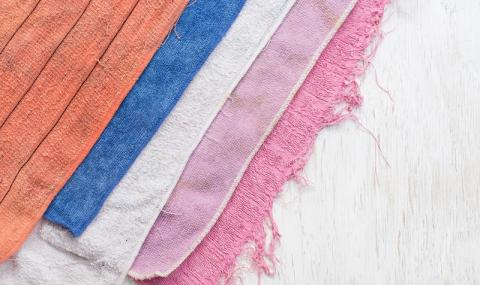 6 идеи за употреба на старите хавлиени кърпи