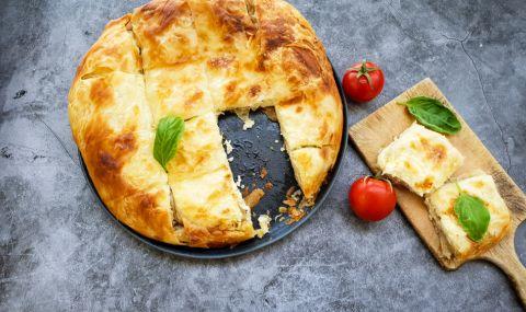 Рецепта на деня: Баница с хляб