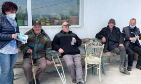 Караянчева: Имам очи да ходя по селата